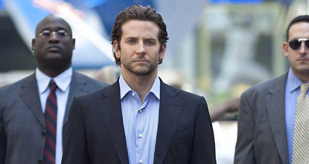 In 2011 thriller Limitless, Bradley Cooper, pictured centre, takes a pill that opens up closed regions of his brain. This boost his intelligence, motor skills and ability to learn new languages