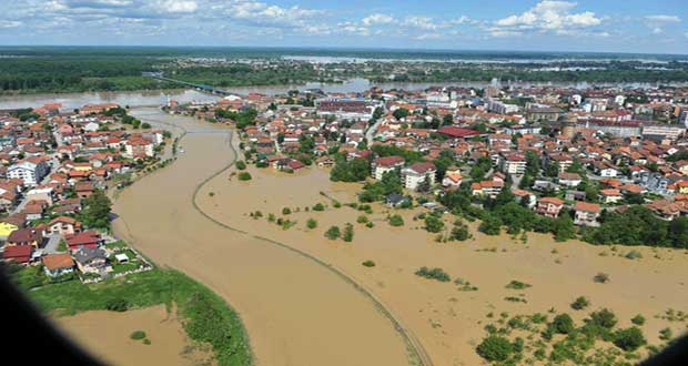 Serbia and Bosnia The Worst Flooding