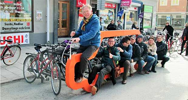 Sweden strategies for reducing pollution Bike Coaches