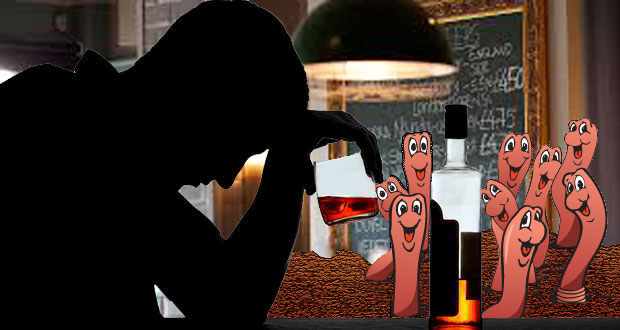 Alcohol-resistant-worms-and-human-sobriety