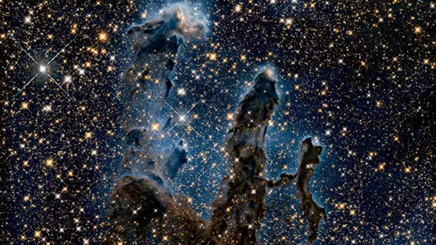 NASAs iconic Pillars of Creation image gets amazing hi-res makeover