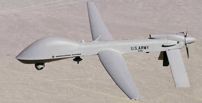 We see no evidence that the drones contribute to a more secure border