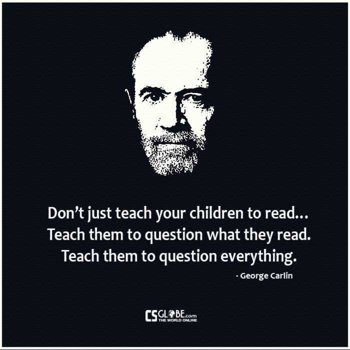 5 Powerful George Carlin Videos About Society