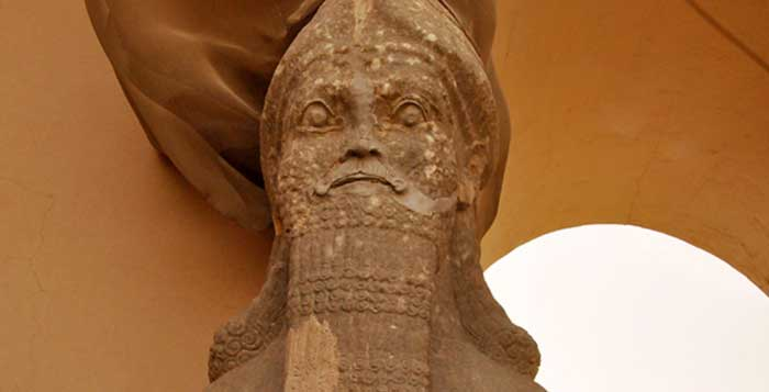 ISIS bulldozes ancient Assyrian city in Iraq
