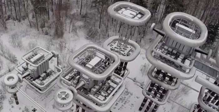 Russia Massive Tesla Tower Revealed in Drone Footage
