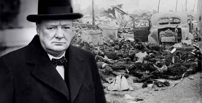 Image result for churchill war criminal