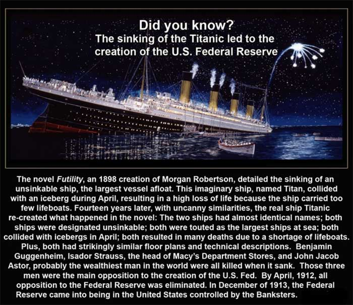 Titanic and The Federal Reserve