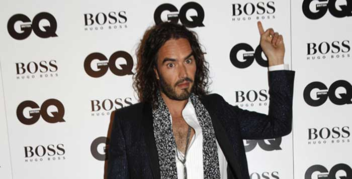 Russell Brand Kicked Out of GQ Awards For Pointing Out Hugo Boss Made Nazi Uniforms