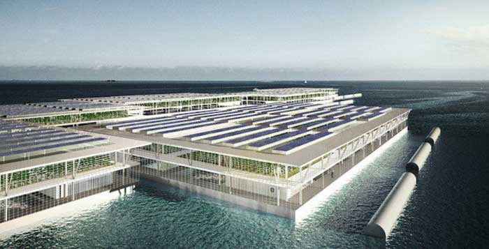 Can Solar Powered Floating Farms Provide Power For The World