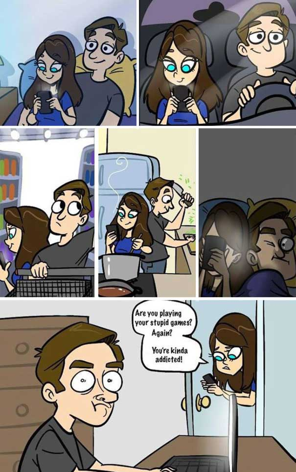 These-22-Cartoons-Illustrate-How-Smartphones-1