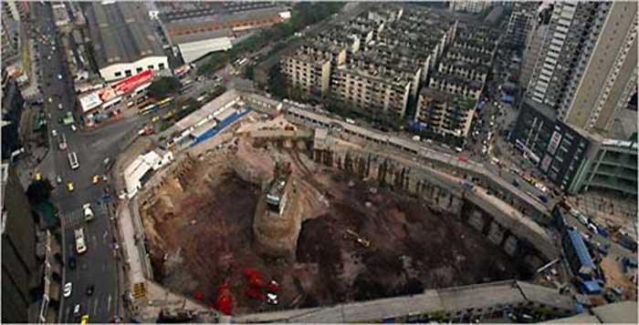 China-Stubborn-Nail-Houses-Stand-In-The-Way-Of-Modernization
