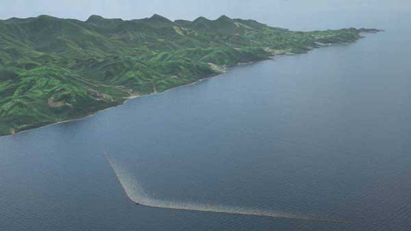 Longest-Floating-Structure-In-History-Sets-Out-To-Clean-The-Ocean