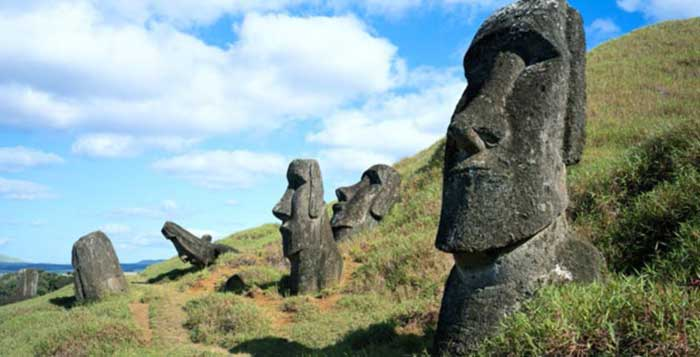 What Scientists Discovered Underneath The Easter Island Heads
