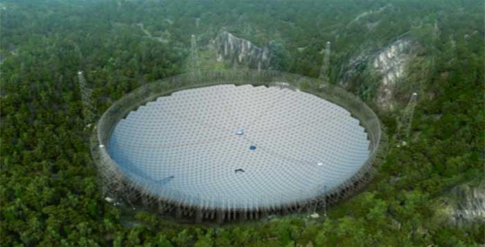 Assembly Of The Worlds Largest Radio Telescope Has Begun