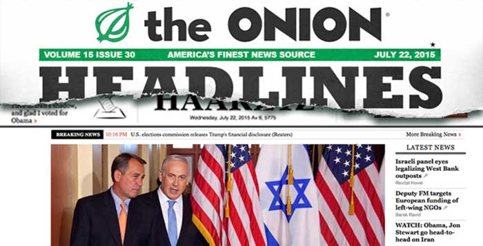 Satirical Onion Article Accidentally Predicts Actual News Headline