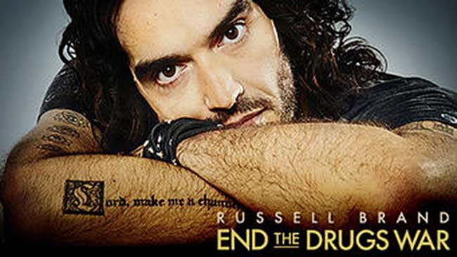 Russell Brand End the Drugs War 5