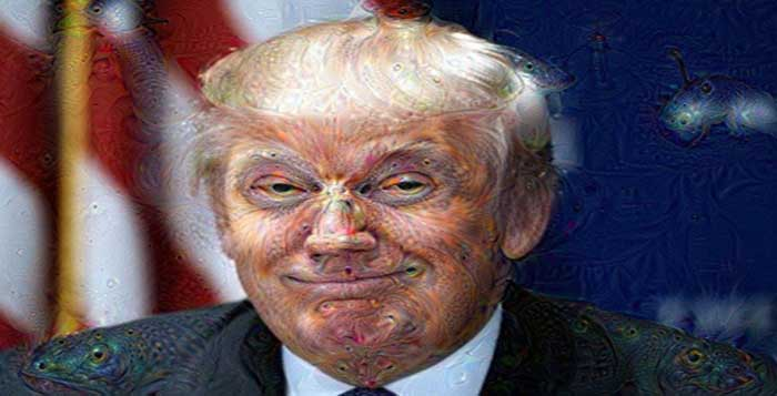 Trippers Document Their Experience Of Taking LSD At A Donald Trump Rally