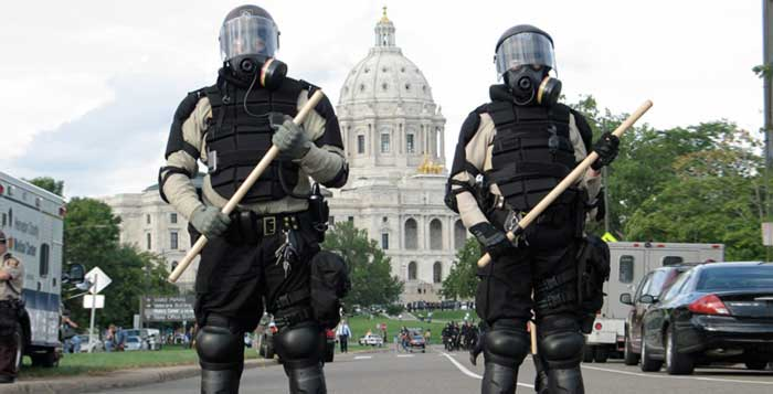 American Cops Now Being Sent To Scotland To Learn How To Stop Killing People
