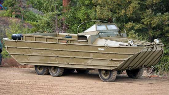 Nine Military Vehicles You Can Buy x
