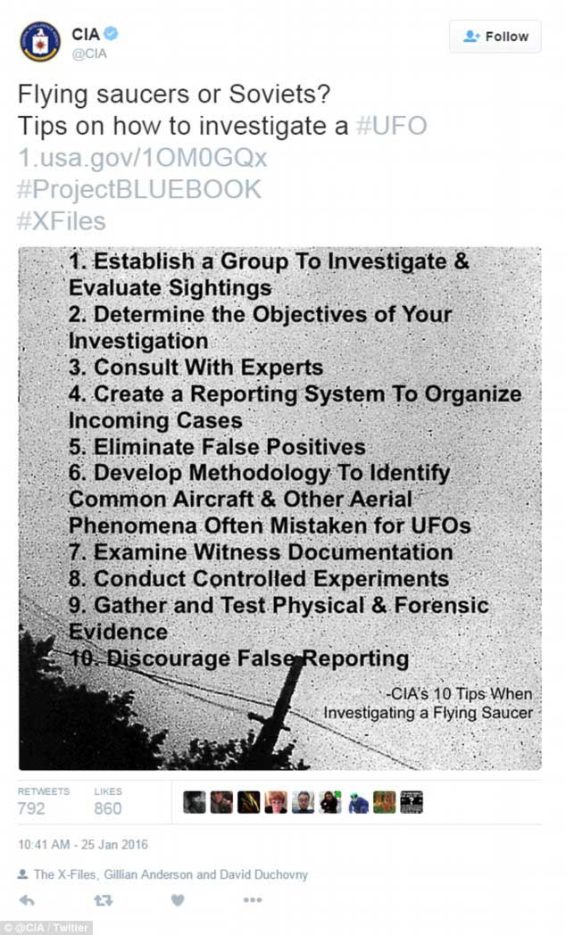 Ten UFO Documents That The CIA WANTS you to see z