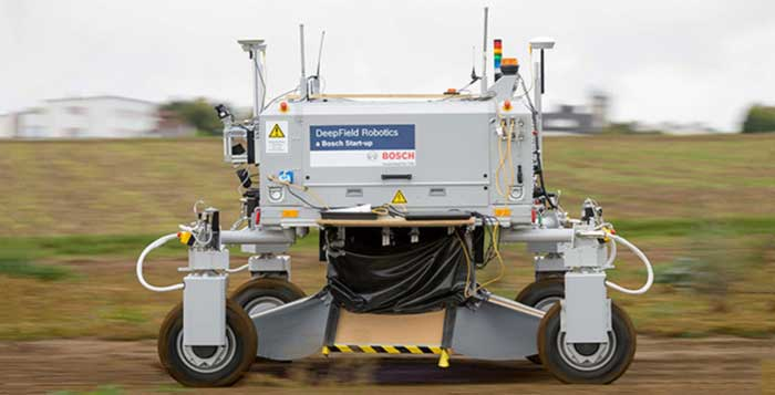 Weed Killing Robot Developed No Herbicides Needed