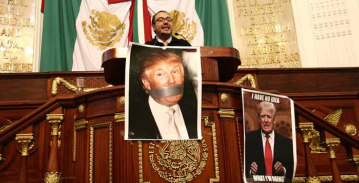 Mexico City Legislators Ask To Ban Donald Trump From Their Country