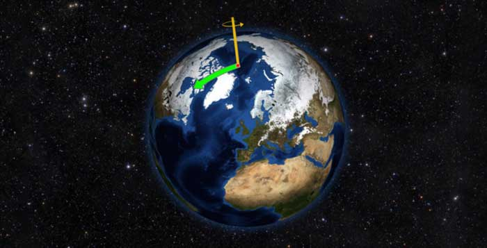 Climate Change Is Literally Causing Earth's Poles To Shift