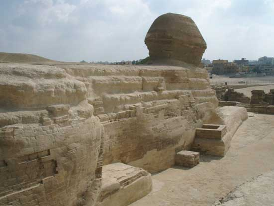 Geological evidence shows the Great Sphinx is 800000 years old 3