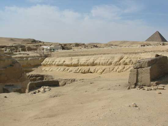 Geological evidence shows the Great Sphinx is 800000 years old 2