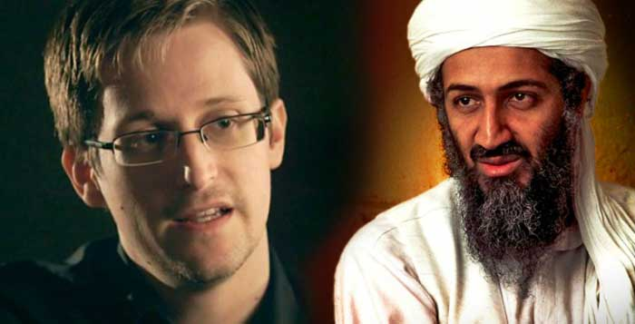 Edward Snowden Osama Bin Laden Is Alive And Well In The Bahamas