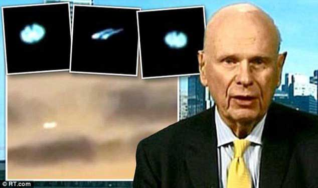 Governments are HIDING aliens claims former defence minister Paul Hellyer urges world leaders to reveal secret files 98