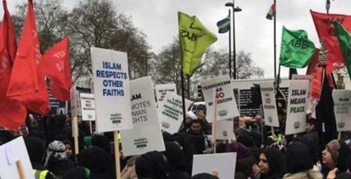 London Muslims March Against ISIS Goes Unreported By Mainstream Media