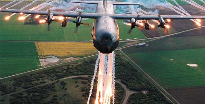 These C-130s Bomb Targets With Tree Mines To Reforest The Planet