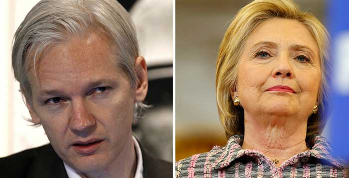 Wikileaks will publish enough evidence to indict Hillary Clinton warns Assange