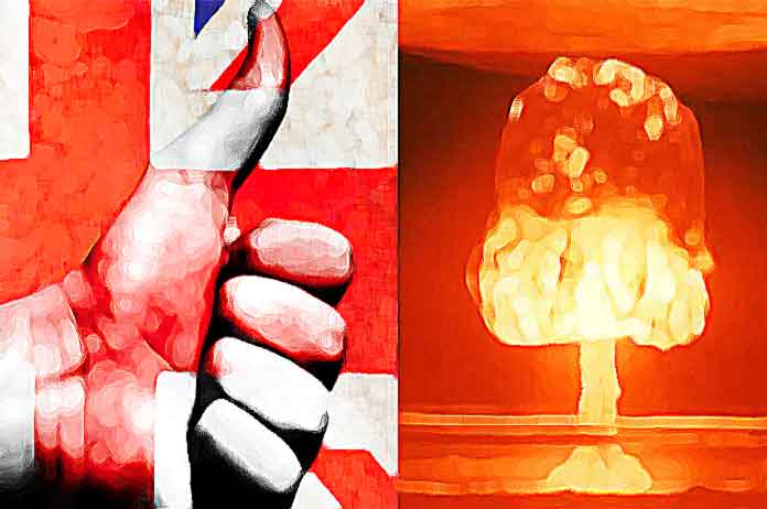 Britons Say They Support Launching a Nuclear Strike