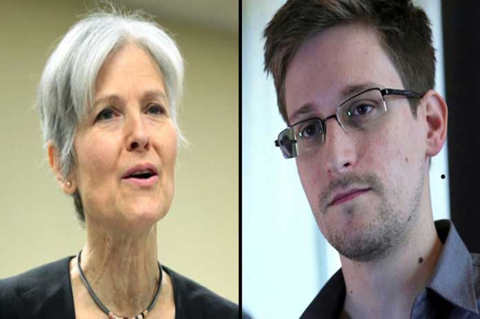 Jill Stein Just Promised to Pardon Snowden and Appoint Him to Her Cabinet If Elected