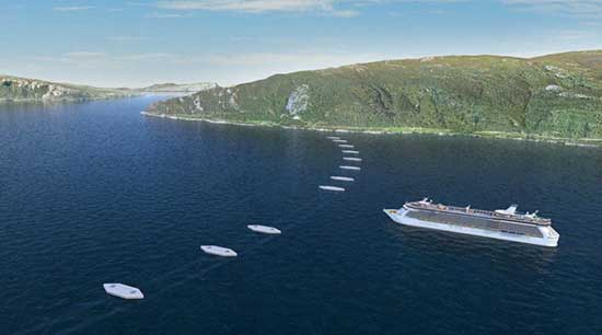 Norway Is Set To Build The Worlds First Underwater Floating Tunnel