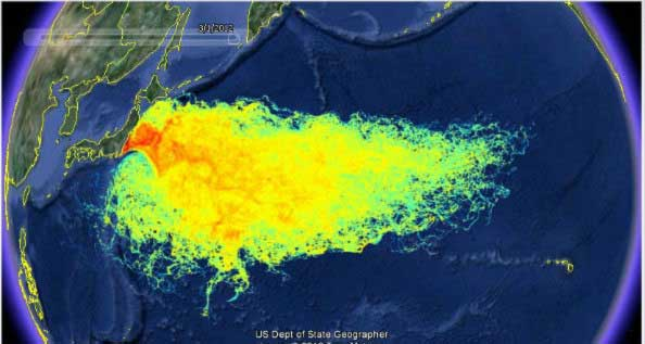 Beware High Radioactive Levels Have Taken Over the Pacific 1
