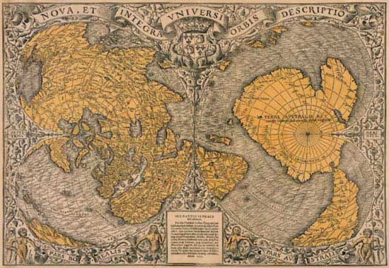 History Broken Into Pieces- 500 Yeas Old Map is To Blame