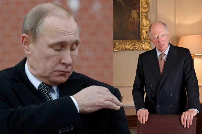 Putin has Banned Rothschild and His New World Order Banking Cartel Family from Entering Russian Territory