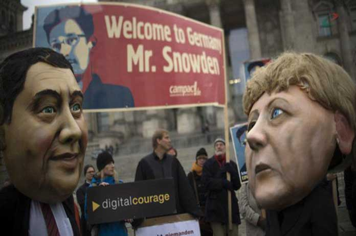 Snowden to Germany
