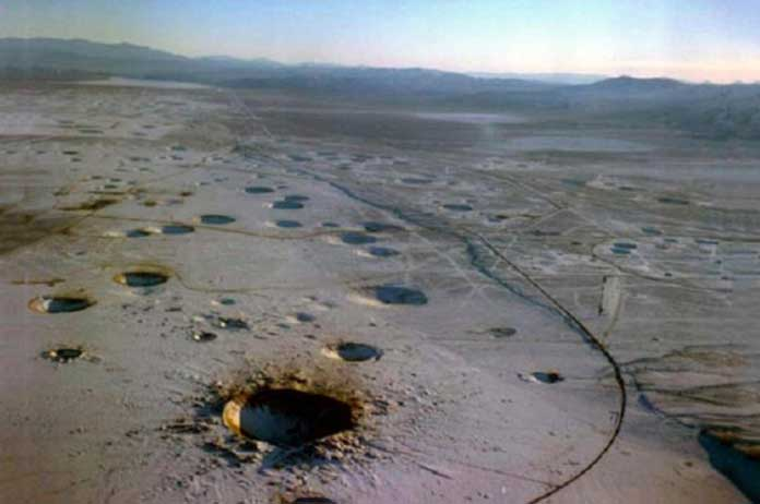 Bombs Have Been Dropped in Nevada