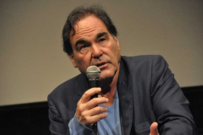 Oliver Stone American history Were not under threat We are the threat