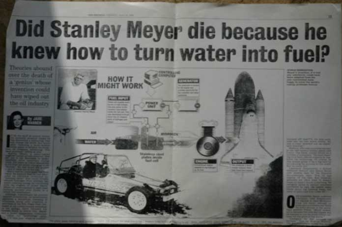 Water-Powered Cars scientists