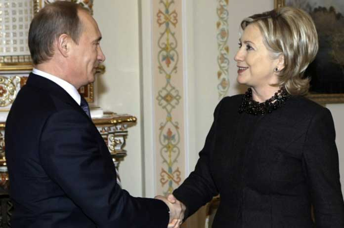 Wikileaks Reveals That Hillary Clinton Bragged About Visiting Putin Private Inner Sanctum