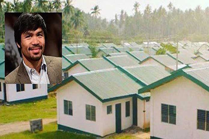 World Known Boxer Buys Free Homes For the Poor