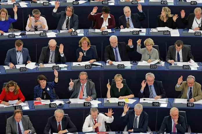 Russia placed alongside ISIS in new EU resolution debated by MEPs