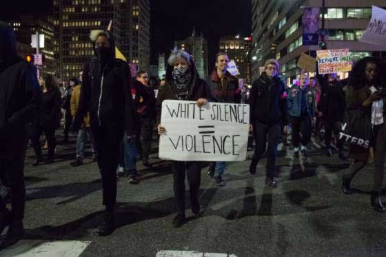 Trump protesters flood streets anew e