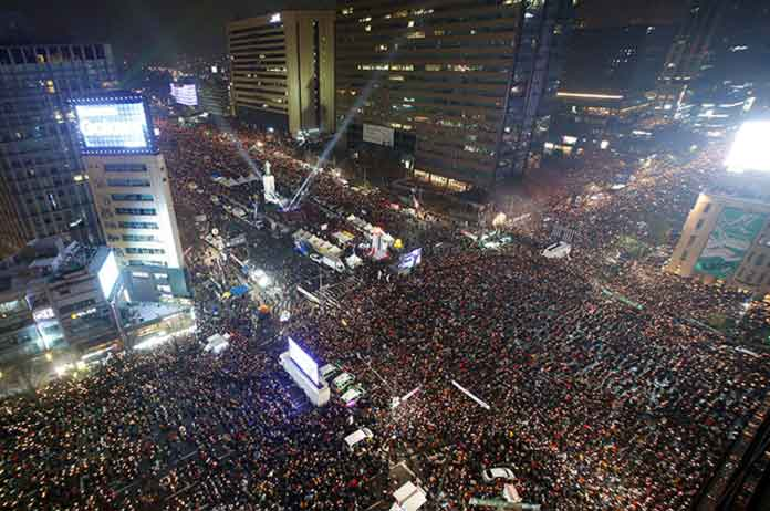 Million South Koreans Protest, Call For President To Resign