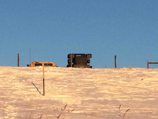 Surface-To-Air Missile System Deployed at Standing Rock 1